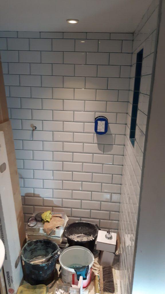 Shower Room – Finished Dec 2017