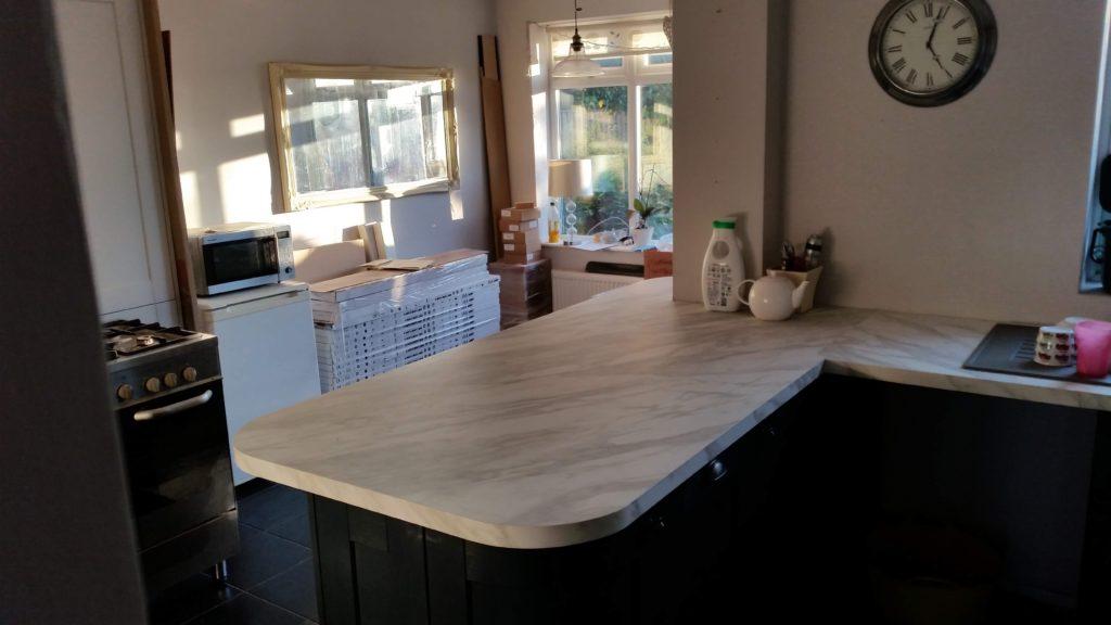 Blue Kitchen – Finished Oct 2018
