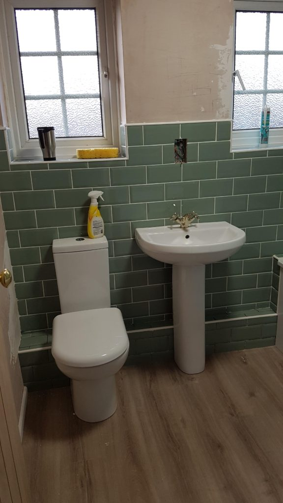 Shower Room – Finished March 2019